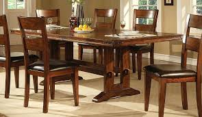 solid oak dining table set oak dining room sets stylish table in dark tables within oak