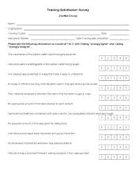 Restaurant Survey Form Template Sample Templates Source Employee ...