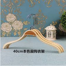High Quality Coat Rack 100pcslot 100cm Wooden Hangers High Quality women Wood Hanger coat 41