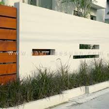 Small Picture 60 Gorgeous Fence Ideas and Designs Concrete walls Concrete and