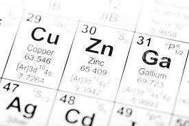 Periodic Table Element Zinc stock photo | iStock