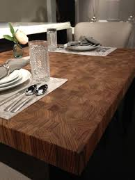 butcher block dining table. Zebrawood Butcher Block Countertop Dining Table L
