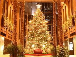 Most Beautiful Golden Christmas Tree Desktop Wallpaper