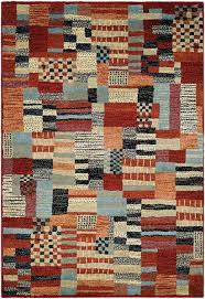 couristan solace adobe patchwork area rug 2 x 3 7 red sand souq uae