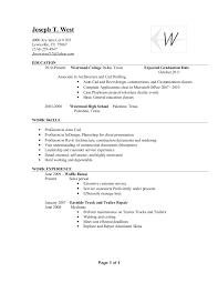 Sample Autocad Drafter Resume Cad Drafter Cover Letter Sample Livecareer Resume