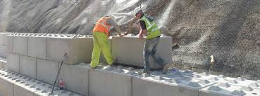 interlocking concrete blocks for