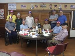 Falls Active Adult Center Men's Coffee Club observes holiday | The Sunday  Dispatch