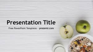 Free Food Powerpoint Templates Healthy Food Powerpoint Template Prezentr