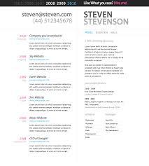 resume cv template com resume cv template to inspire you how to create a good resume 9