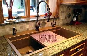kitchen decoration medium size kitchen sink with cutting board cover over kohler sliding strainer stainless steel