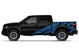 ford raptor 2014 blue. ford f150 svt raptor 20102014 custom vinyl decal wrap kit raptor shreds 2014 blue