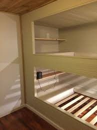built in bunk beds. Simple Bunk DIY Wall To Built In Bunk Beds And A Full Room Remodel  Impatiently  Crafty Throughout In A