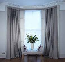 bay window curtain rod dressing how to install