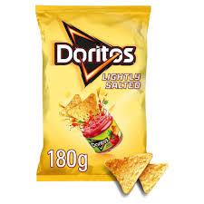 Tesco Lightly Salted Tortilla Chips Gluten Free Doritos Lightly Salted Tortilla Chips
