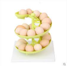 Egg Display Stands SPIRAL EGGS STORAGE HOLDER STAND RACK KEEPER STORE DISPLAY 100