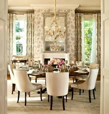 how to decorate a round dining table round dining room with chandelier decorating dining table for xmas