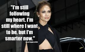 Greatest five popular quotes by jennifer lopez photo English via Relatably.com