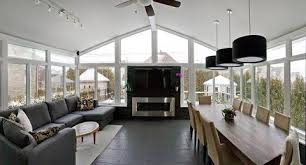 modern sunroom designs. Beautiful Designs Add To Modern Sunroom With Medium Wood Banquet Table To Designs R