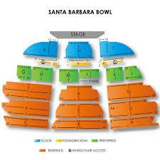 Santa Barbara Bowl Seating Chart View Detailed Santa Barbara Bowl Seating Chart With Seat Numbers