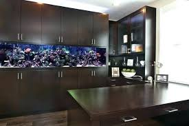 fish for office. Fish Tank In Bedroom Small Home Office Contemporary Built Desk Dark For
