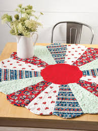 cherry 40 round about quilt pattern loading use this table topper