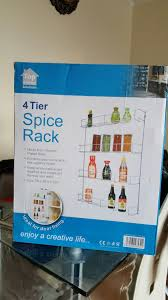 Tier Spice Rack Used 4 Tier Spice Rack In N1 London For 900 Shpock