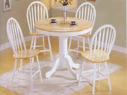 image of round kitchen table and chairs for
