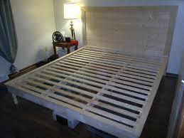 diy king size platform bed plans.  Plans King Size Platform Bed Plans Storage Intended Diy D