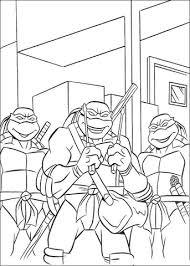 Teenage Mutant Ninja Turtles Kleurplaat Gratis Kleurplaten Printen