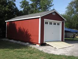 Product Detail Flat Roof Garage Portable Metal Garage L