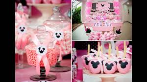 Minnie Mouse 1st Birthday Decorations Favors Cake Topper Theme Ideas
