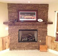 rock fireplace mantel rock fireplace mantel river pictures