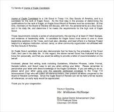sample eagle scout letter of re mendation 9 eagle scout letter of re mendation