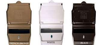 Whitehall Products Custom Wall Mount Mailbox with Removable
