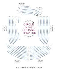 Circle In The Square Broadway Seating Chart Once On This