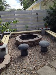 cinder block steps and building outdoor fireplace with cinder blocks