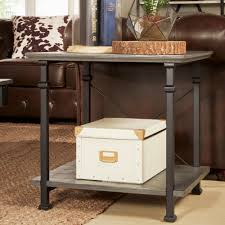 Myra Vintage Industrial Modern Rustic End Table by iNSPIRE Q Classic - Free  Shipping Today - Overstock.com - 14288172