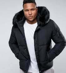 black puffer jacket designer