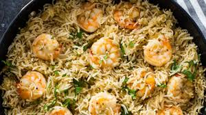 Rice with Clams and Shrimp Recipe