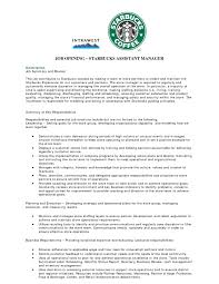 ideas collection starbucks resume sample for job summary - Resume For  Starbucks