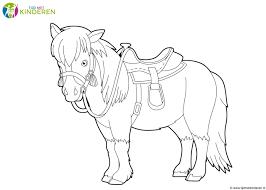 Niewu Kleurplaten Nl Paarden Kleurplaat 2019