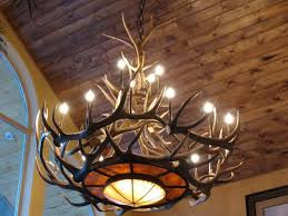 bring statement into your room with antler chandelier