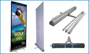 Pull Up Display Stands Fascinating Pull Up Roll Up Banner Stand 3232ftx3232ft Stainless Steel Banner