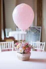 bridal shower centerpiece idea hot air balloon fl bridal shower centerpiece courtesy of kara s party ideas