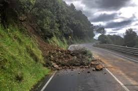 Fear of landslide, road closed for three months