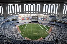 Yankee Stadium Seating Chart Pinstripe Bowl 2018 Shamrock Series To Feature Syracuse In Yankee Stadium