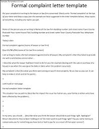 Complaint Format Letter To Complaint Format Cover letter samples Cover letter samples 67