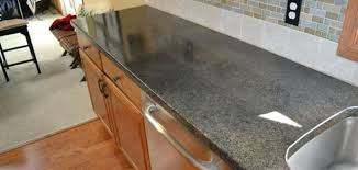 image of painting laminate to look like granite countertop overlay options