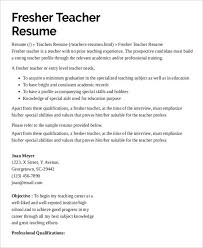 Awesome Collection Of Preschool Teacher Resume 9 Free Word Pdf