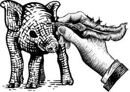 子豚イラスト講座のフリーイラスト素材